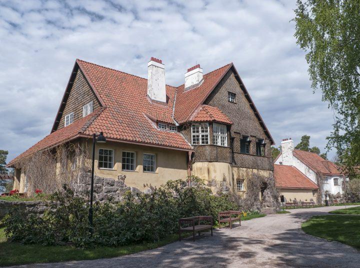 The southern wing, Hvitträsk
