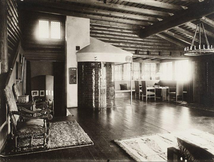 The interior , Hvitträsk