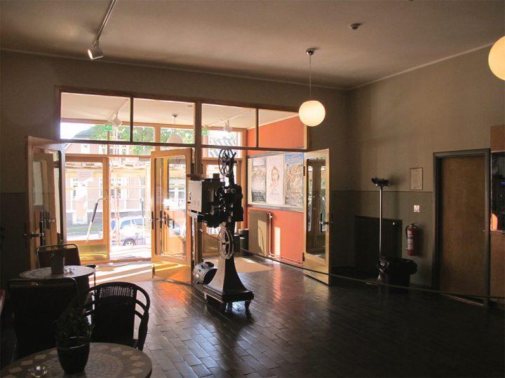 Entrance lobby, Bio Savoy Cinema