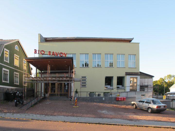 Façade towards Nygatan street, Bio Savoy Cinema