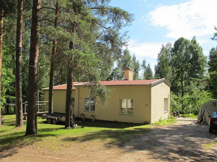Head foreman's villa in Savonlinna, Wilhelm Schauman Company Houses