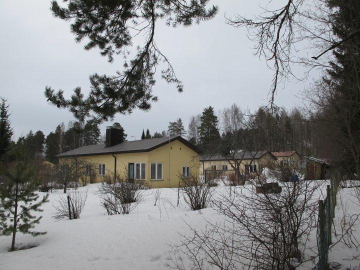 Semi-detached houses on Leivonkatu and Kiurunkatu streets, Savonlinna, Wilhelm Schauman Company Houses