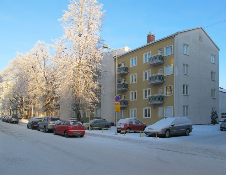Mustalahdenkatu apartment block, Finlayson-Forssa Amurinlinna Housing Block