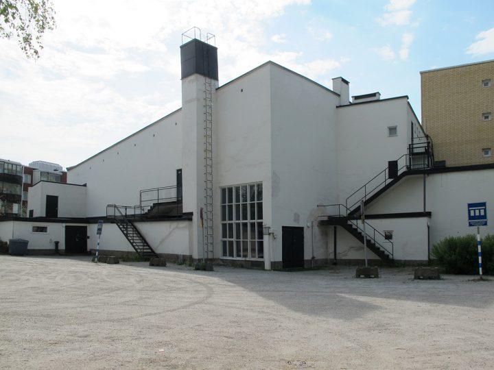 Back side, Kiva Cinema