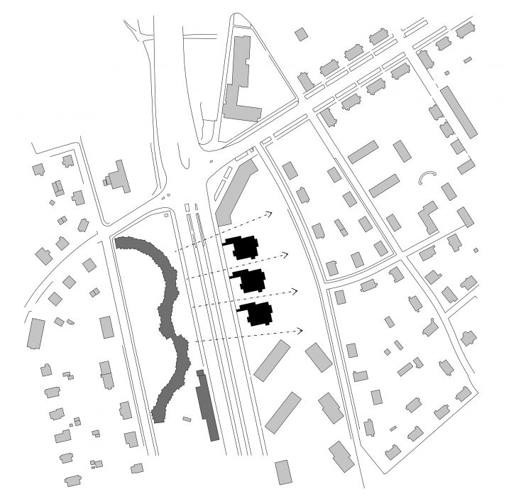 Town plan, Käpykallio Housing