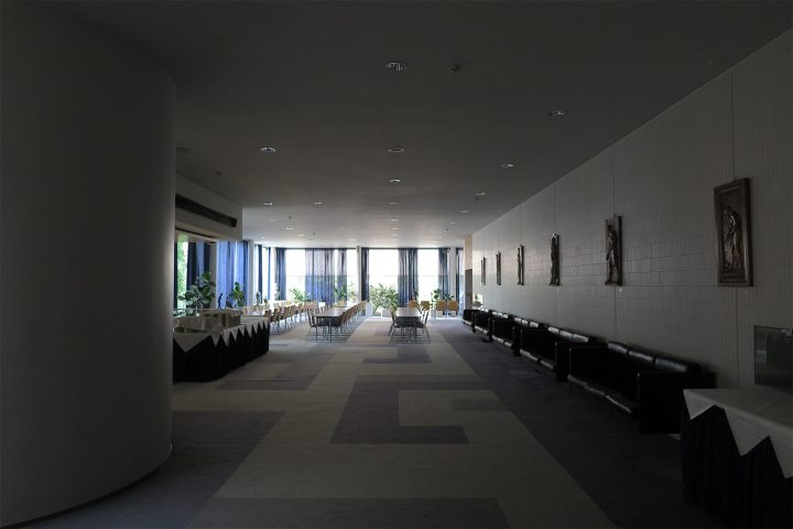 Hallway of the cultural centre, Iisalmi Cultural Centre