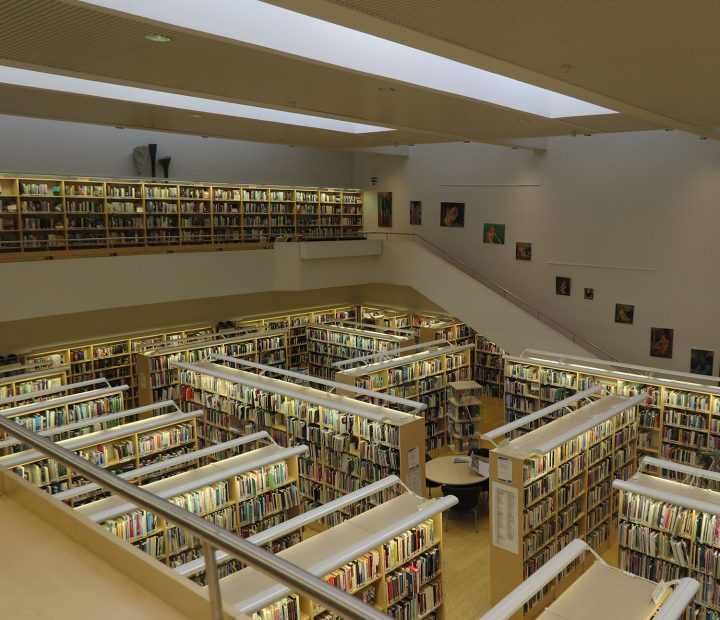 Library, Iisalmi Cultural Centre