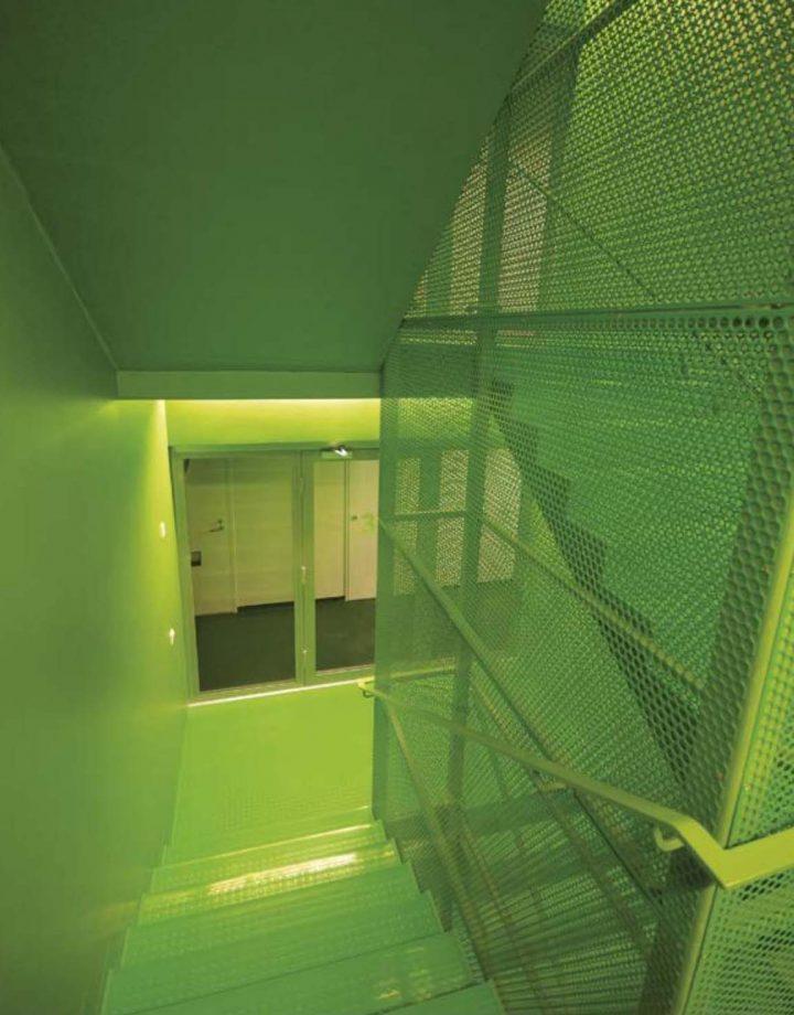 Stairwell, Ikituuri Student Housing