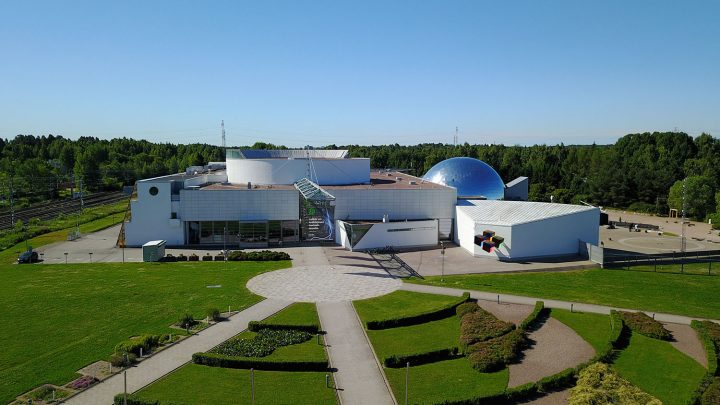 Aerial view, Finnish Science Centre Heureka