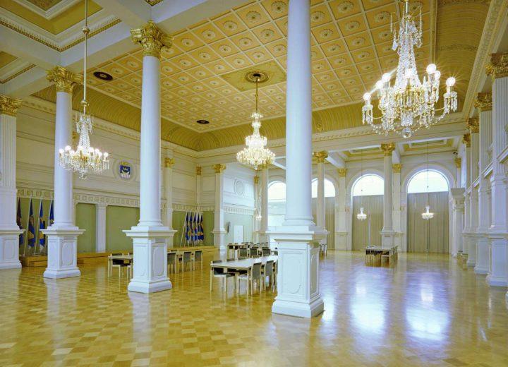 Banquet hall, Helsinki City Hall