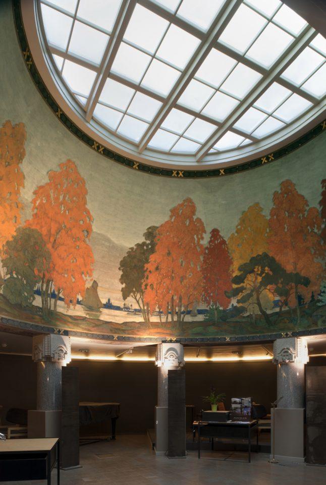Ceiling, Jugend Hall