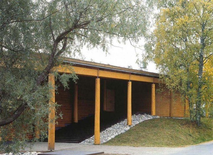 Main elevation, Juminkeko Information Centre for the Kalevala and Karelian Culture