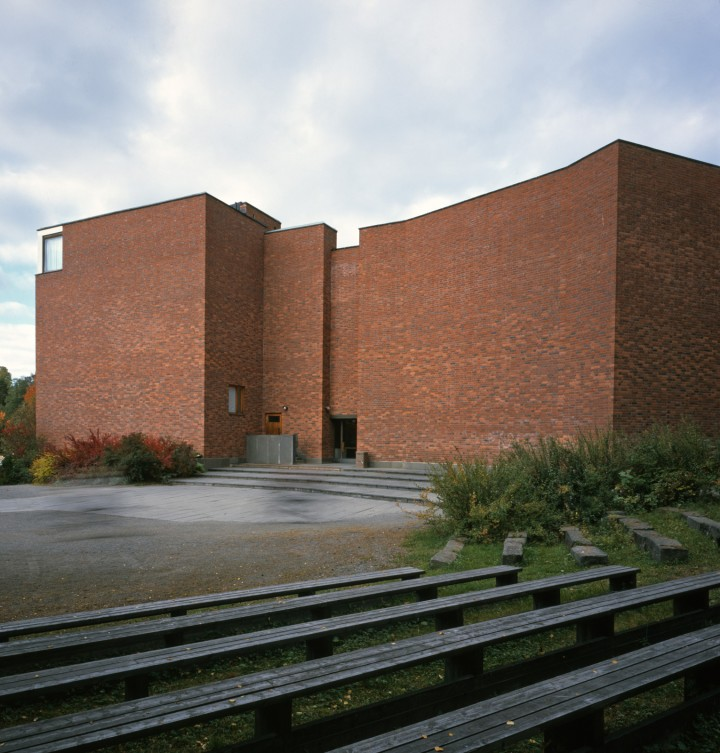 The main building, University of Jyväskylä, the Aalto's Campus