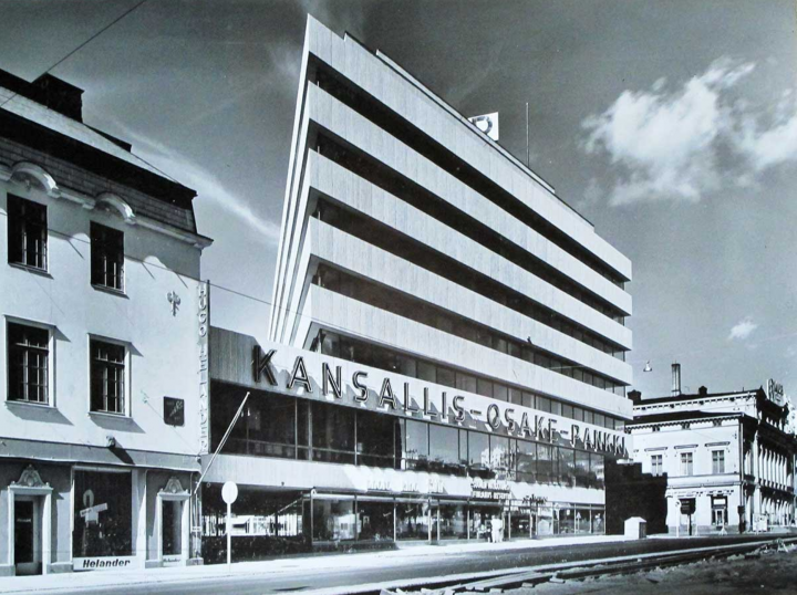 The KOP-kolmio Commercial Building