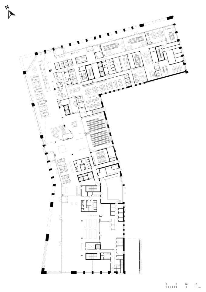 Ground floor, Urban Environment House