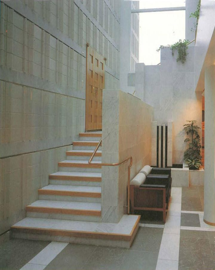 Staircase, Kaukametsä Cultural Centre