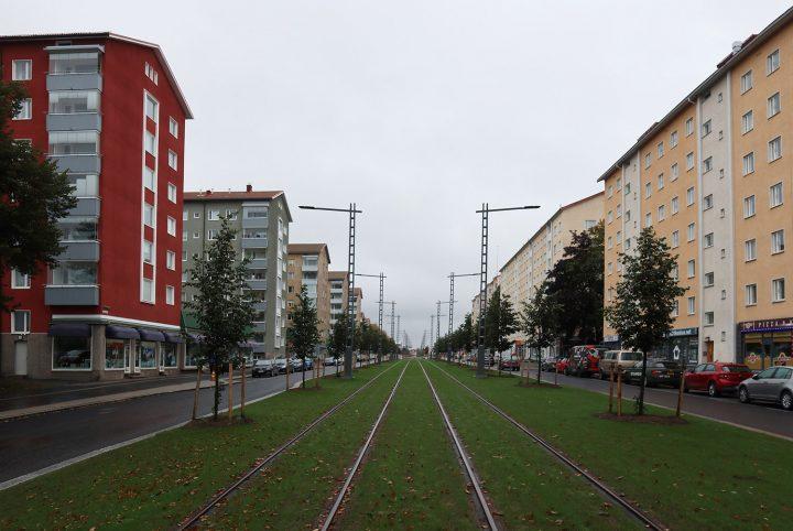 Teiskontie street view, Kaleva District