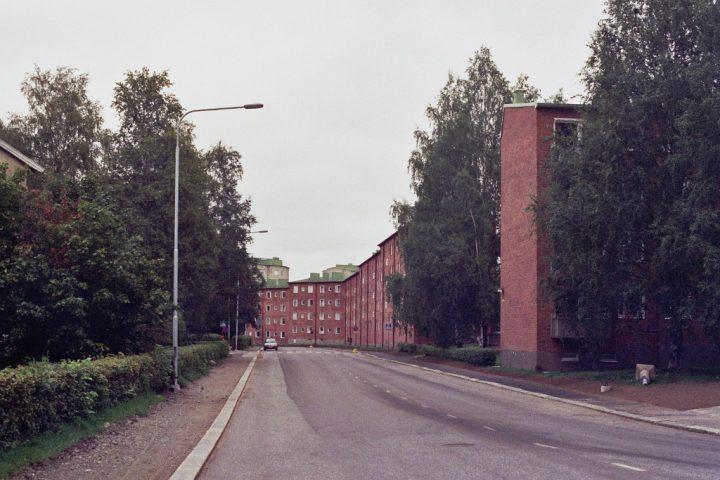 Kalevankartano housing in Kaupinkatu, Kaleva District