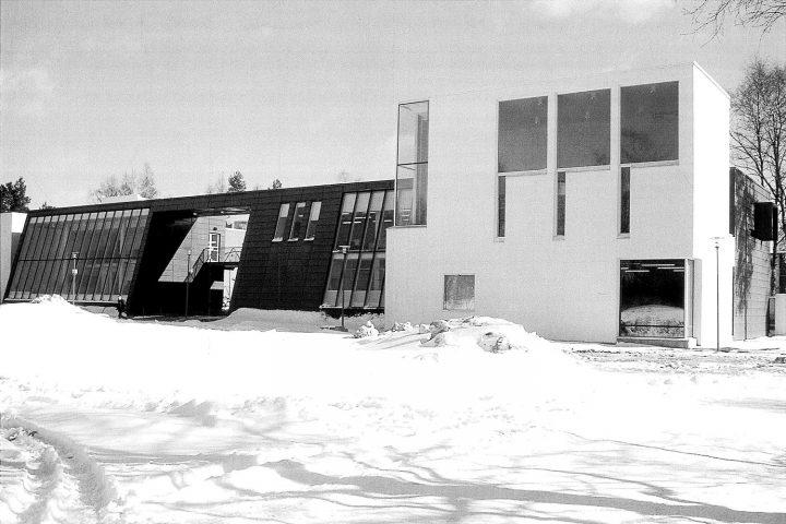 View from the Eläintori Square, Kankaanpää Art School