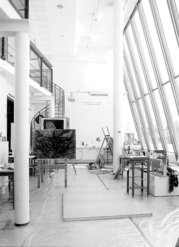 Large paintin class, Kankaanpää Art School