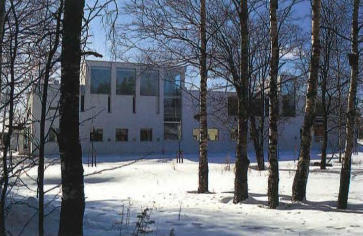 View from the Paasikivi street, Kankaanpää Art School