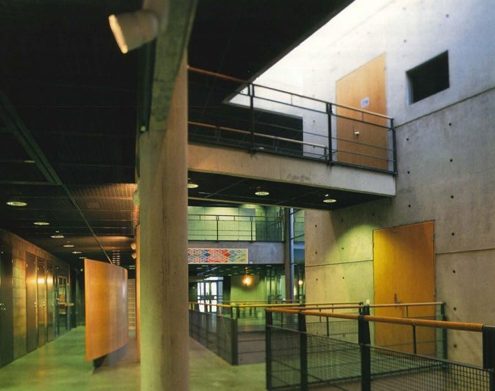 View from the lobby, Kankaanpää Art School