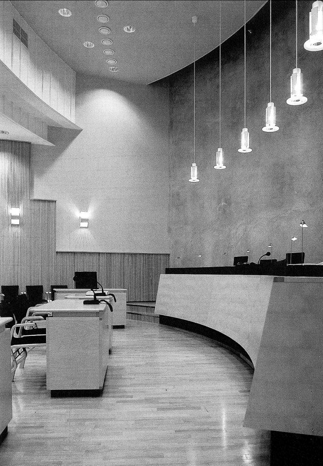 Courtroom, Kankaanpää Public Office Centre