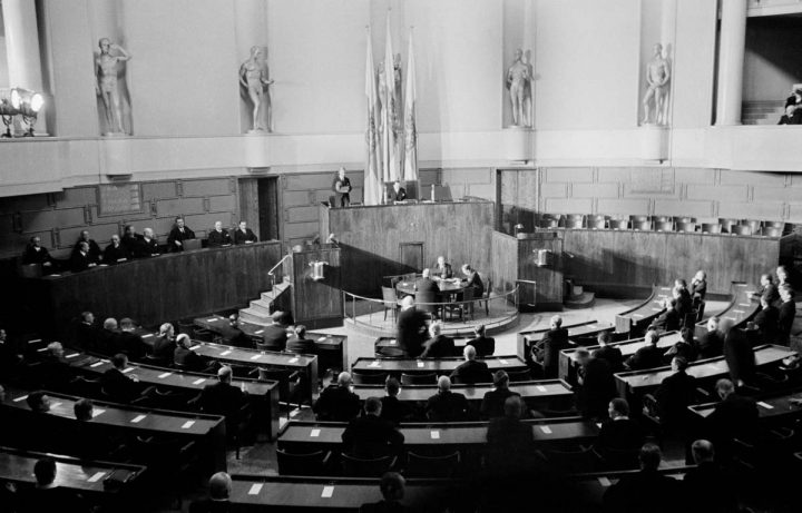 Assembly hall, Parliament House