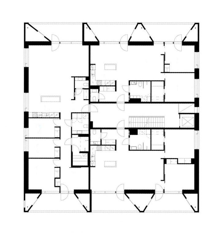3rd floor, Kotisaarenkatu Housing