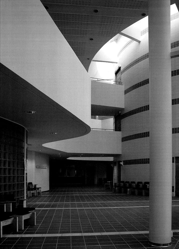 Central lobby, Kuopio Court and Police House