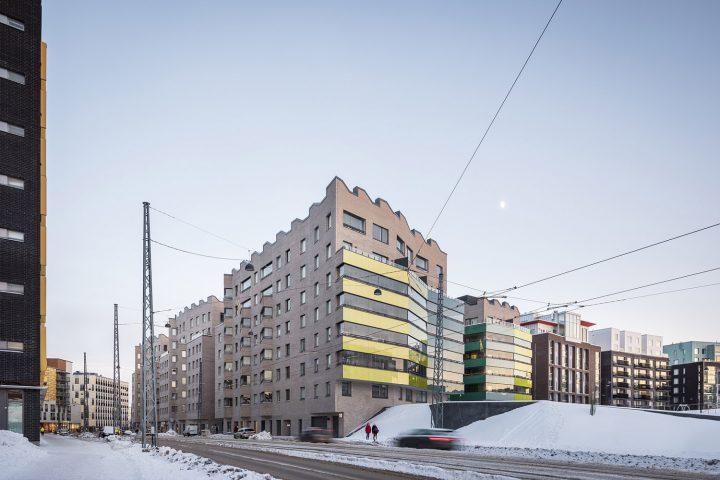 Välimerenkatu street view, Airut Housing Block