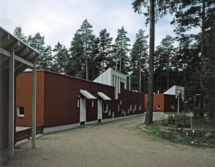 Northern façade, Länsi-Säkylä Daycare Centre Onnimanni