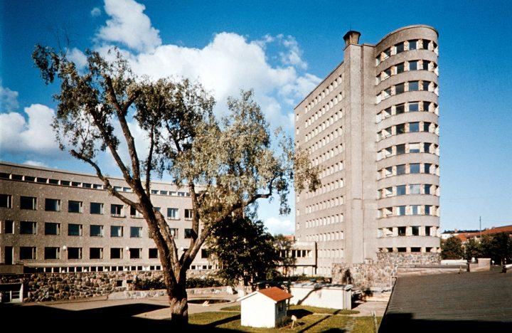 Children's hospital photographed in the 1960s, Lastenlinna Children's Hospital
