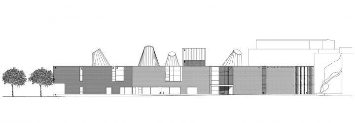 Elevation, Lohja Main Library