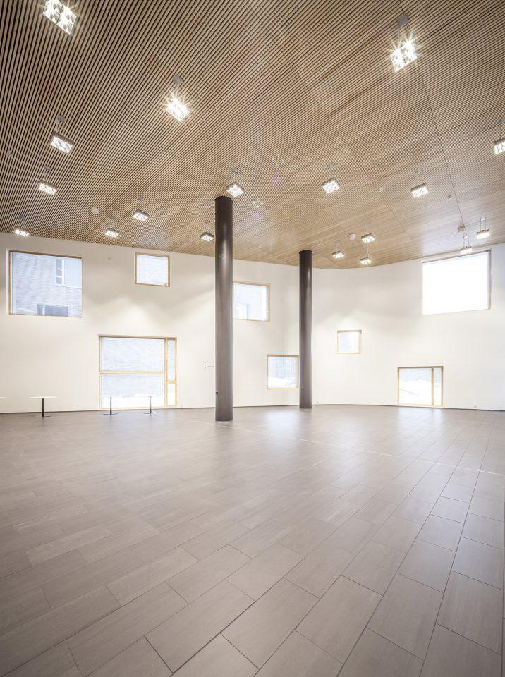 The interior, Lehtikangas School and Community Centre