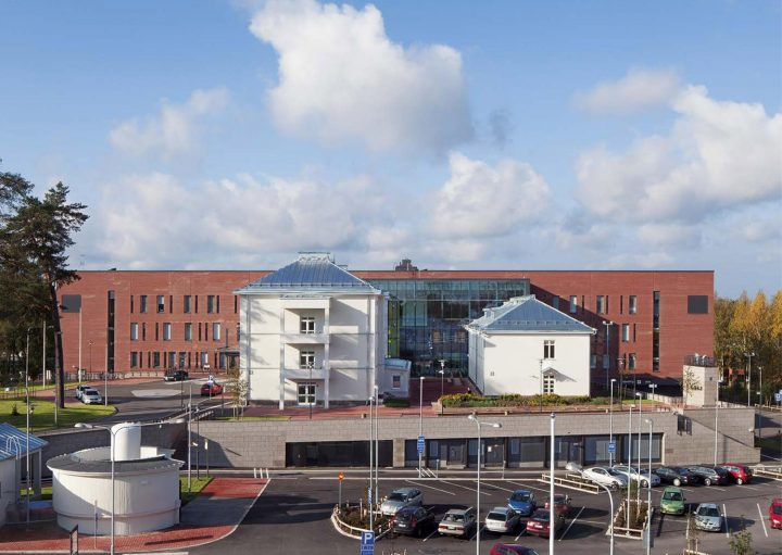 View from the east, Malmi Hospital