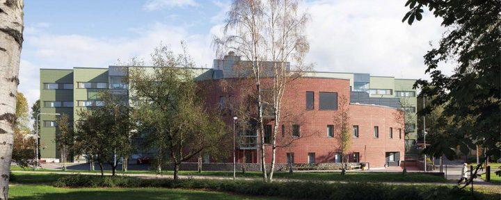 West elevation, Malmi Hospital