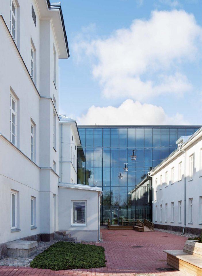 East elevation, Malmi Hospital