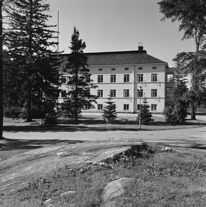 Malmi Hospital in the 1970s, Malmi Hospital