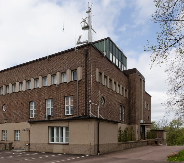 View from the south, Mariehamn Navigation School