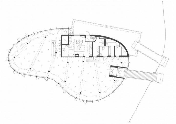 Plan, Meripaviljonki Restaurant