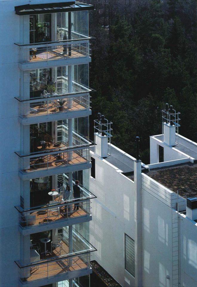 Balconies, Meritähti Housing