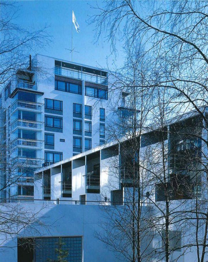 Various massings , Meritähti Housing