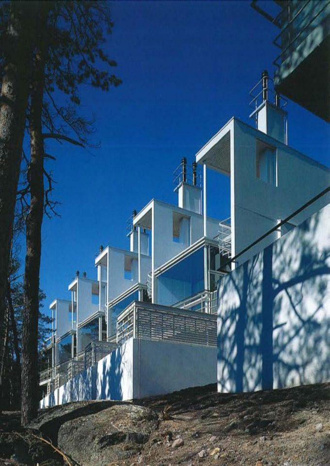 Apartments opening towards the sea, Meritähti Housing