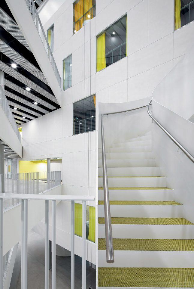 Stairway, Metropolia Myllypuro Campus