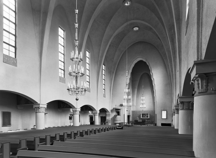 Assembly hall, Mikael Agricola Church