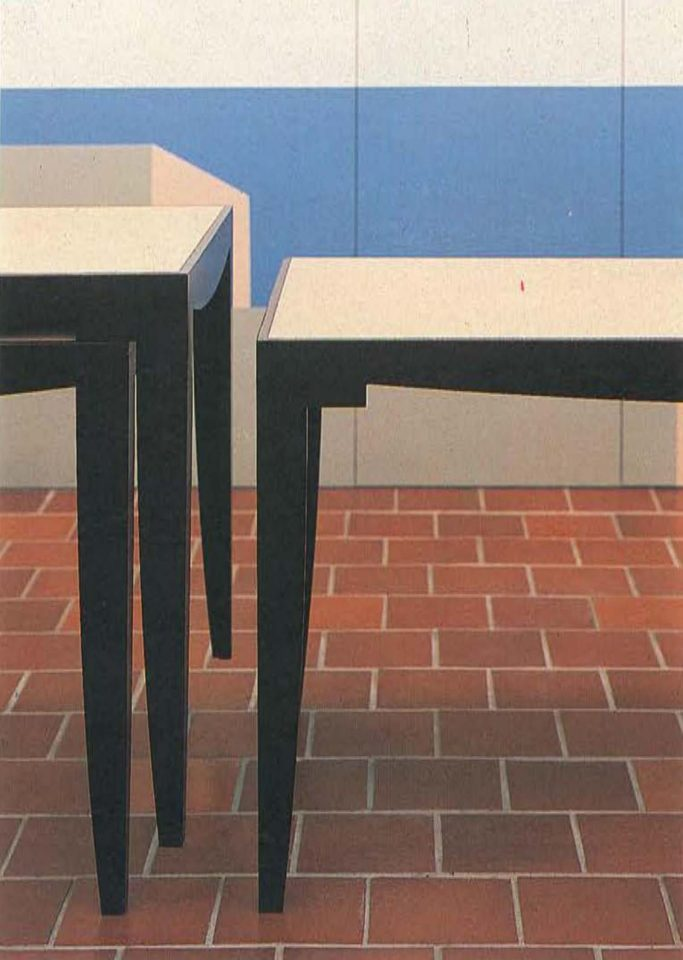 Tables, Mikaelintalo Parish Centre