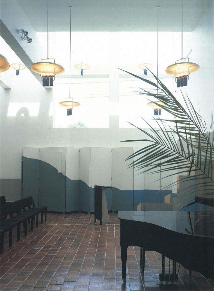 Large parish hall, Mikaelintalo Parish Centre