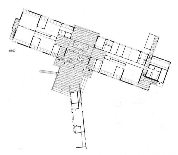 Floor plan, Misteli Daycare Centre