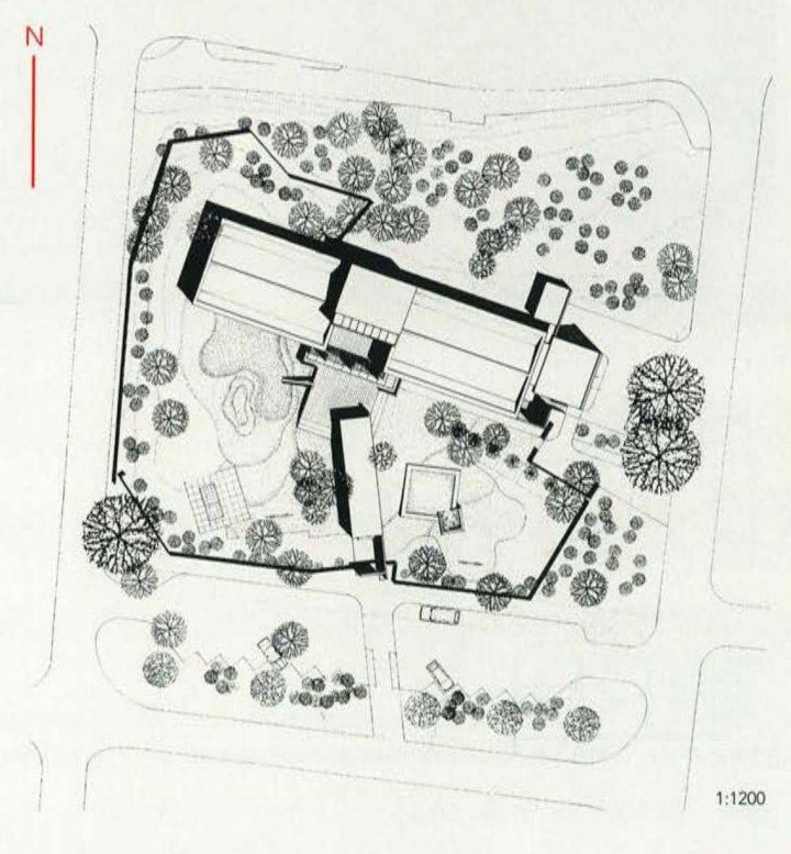 Site plan, Misteli Daycare Centre